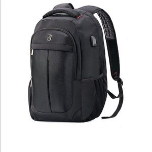 Sasoon Laptop Backpack with USB Charging Port